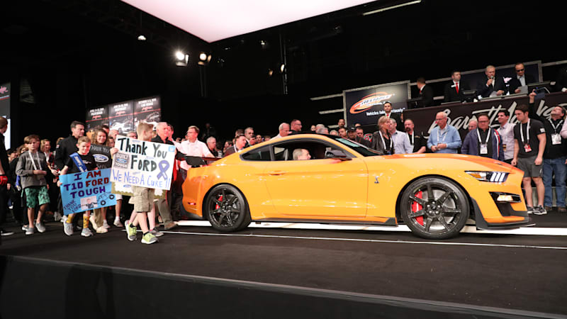 This $1.1M 2020 Ford Mustang Shelby GT500 will help kids with diabetes