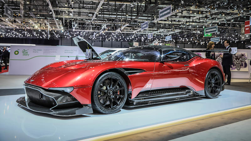 Aston Martins CEO Is Mulling A Batteryelectric Supercar Autoblog - Aston martin sports car