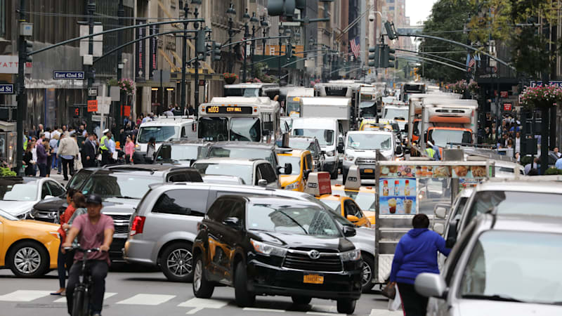 Manhattan could become first U.S. city to levy a congestion charge
