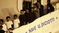 Bloqués près d'une semaine dans un port sicilien, les migrants du Diciotti ont enfin pu