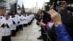 Noël: les tensions sur Jérusalem ternissent les festivités à