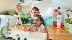 Forget 'Pretty' — Teach Girls They're Smart Like Mommy