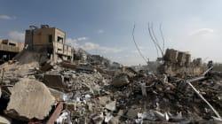 PHOTOS - Les dégâts laissés par les frappes occidentales en