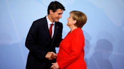 Trudeau Calls Merkel 'Extraordinary' Weeks Before German