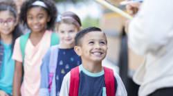 Cómo ayudarles a tus hijos en su primer día en la