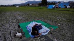 Après le séisme à Lombok, plus de 70.000 personnes sans domicile et dans le