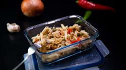 Recetas fáciles: pasta salteada con carne picada y salsa de
