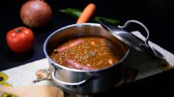 Lentejas con verduras y chorizo, la receta perfecta para este