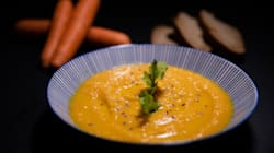 Prepara esta crema de zanahoria en solo 30