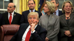 Trump Insists He's The 'Least Racist