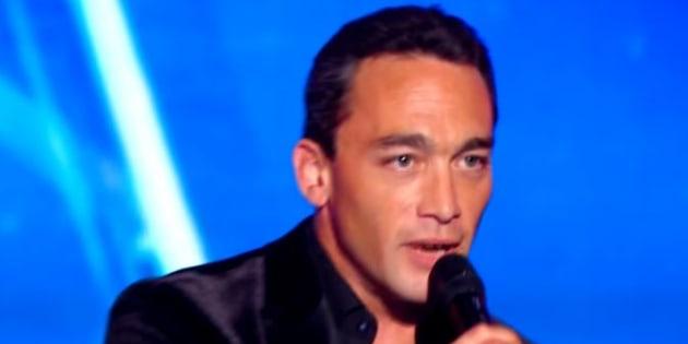 """Jean-Baptiste (candidat de la saison 13 de """"La France a un incroyable talent"""") est le sosie vocal d'un grand rockeur."""