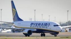 Ryanair lanza una promoción de hasta un 25% de descuento en más de 168 rutas desde