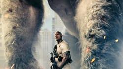 Un gorille albinos et des loups de la taille d'un hélicoptère dans le prochain film avec Dwayne