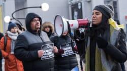 Un rassemblement à Montréal pour dénoncer le meurtre de Marielle