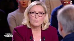 Marine Le Pen ne souhaite pas l'amnistie des gilets jaunes condamnés après des affrontements avec la