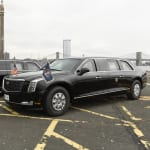 Trump dévoile à l'Onu sa nouvelle voiture présidentielle digne d'un