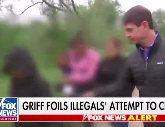 Fox reporter 'foils' migrant family's border cross
