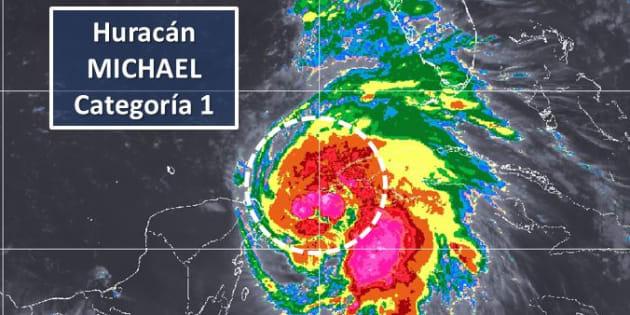 Michael ocasionará tormentas acompañadas de granizo y vientos fuertes en la Península de Yucatán.