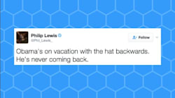 Twitter Is Losing It Over President Obama's Backwards Hat And Flip
