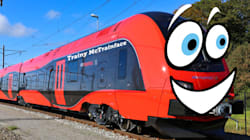 Meet Boaty McBoatface's Swedish Cousin, Trainy