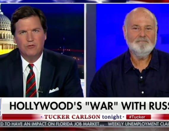 Tucker Carlson spars with Hollywood director
