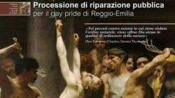 A Reggio Emilia fanno una processione per