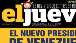 La portada de 'El Jueves' que muchos alaban por cómo muestra a Sánchez tras reconocer a Guaidó: