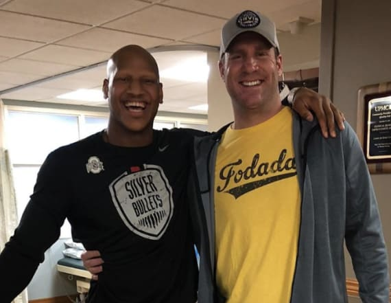 NFL social roundup: Players wish Big Ben well