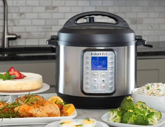 Act fast! The Instant Pot DUO Plus is half off