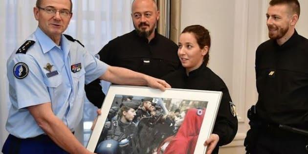 """La Gendarmerie rend hommage à sa """"Marianne"""""""