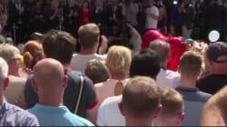 Les images des hommages aux victimes de Manchester au