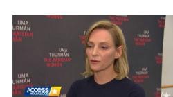 La risposta di Uma Thurman a chi le chiede cosa pensa delle molestie a Hollywood è