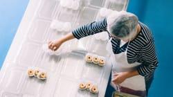 Mujeres en la cocina, pero por
