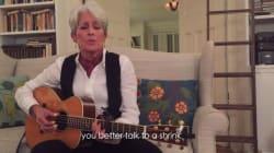 Joan Baez chante les