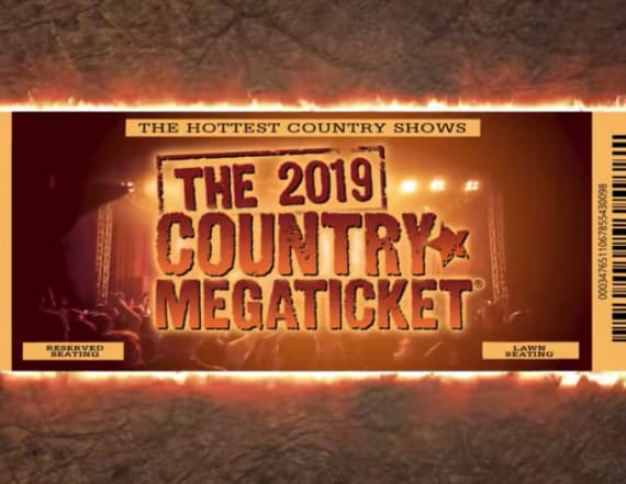 Live Nation reveals 2019 Country Megaticket