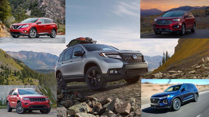 2019 Honda Passport Versus Ford Edge Jeep Grand Cherokee And