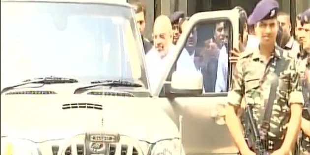 Amit Shah appears in court as witness in 2002 riots case