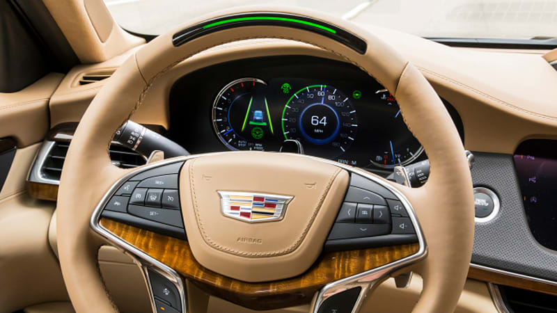 Cadillac's Super Cruise.