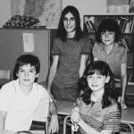 Carlos, Karina, Josete y Luis recrean esta foto de 'Cuéntame' 13 años