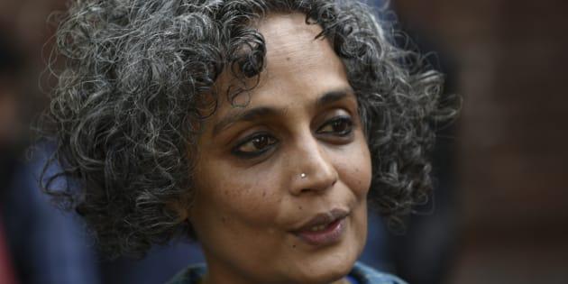 Writer Arundhati Roy. (Photo by Vipin Kumar/Hindustan Times via Getty Images)