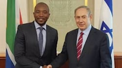 Mmusi Maimane Spat On The Palestinian Cause By Visiting