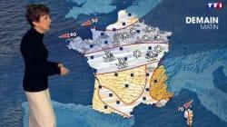 Catherine Laborde a présenté sa dernière météo sur TF1 (et c'était une