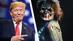 Donald Trump's New Campaign Slogan Is From A Horror Movie: An