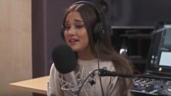 Ariana Grande en larmes en évoquant sa chanson inspirée par l'attentat qui a frappé son