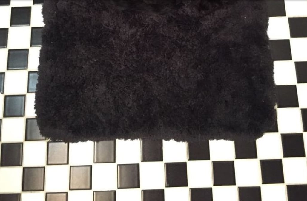 Can You Find The Small Dog Hiding On This Bath Mat Aol News
