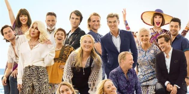 """Le casting de """"Mamma Mia! Here We Go Again""""."""