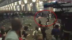 Il video del presunto finto kamikaze che ha alimentato il panico in Piazza San