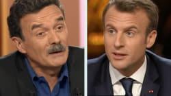 Macron et Plenel se sont rendu coup pour