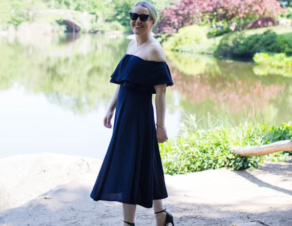 Street style tip of the day: Summer wedding dress