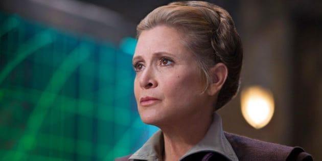 "Finalement, Carrie Fisher sera bien dans l'épisode IX de ""Star Wars"